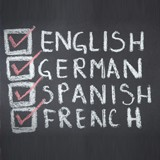 Aula de Inglês, Espanhol, Francês, Italiano, Alemão
